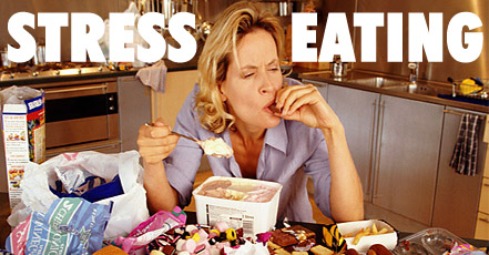 Stress eaters may compensate by eating less when times are good